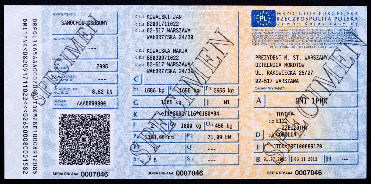 Secured Cards >> PWPW: 50 million vehicle registration certificates PWPW PL